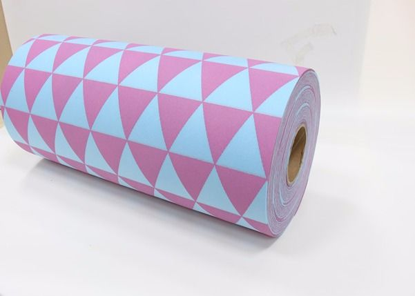 PP Spunbond Colorful Printed Non Woven Fabric For Packing Material 1.6m Width